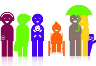 Citizens Advice Bureau Happy Animated Stick Characters