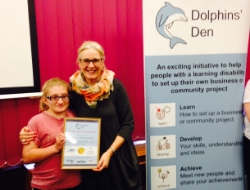 Picture of Audrey accessplanit at Dolphin's Den project