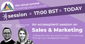 an accessplanit session on sales and marketing webinar cover image