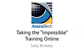 taking the seemingly impossible training online webinar cover image