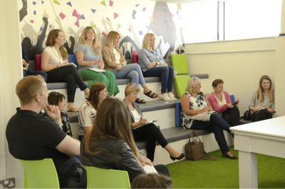 accessplanit UK Customer Forum, discussing training management software