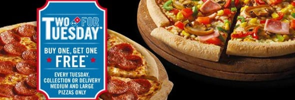 Domino's promotion enticing