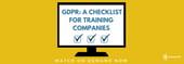 GDPR webinar - watch on demand