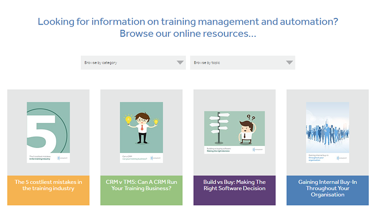 accessplanit online resource centre: information on learning, training and automation