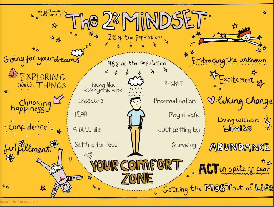The 2 mindset by Art of Brilliance