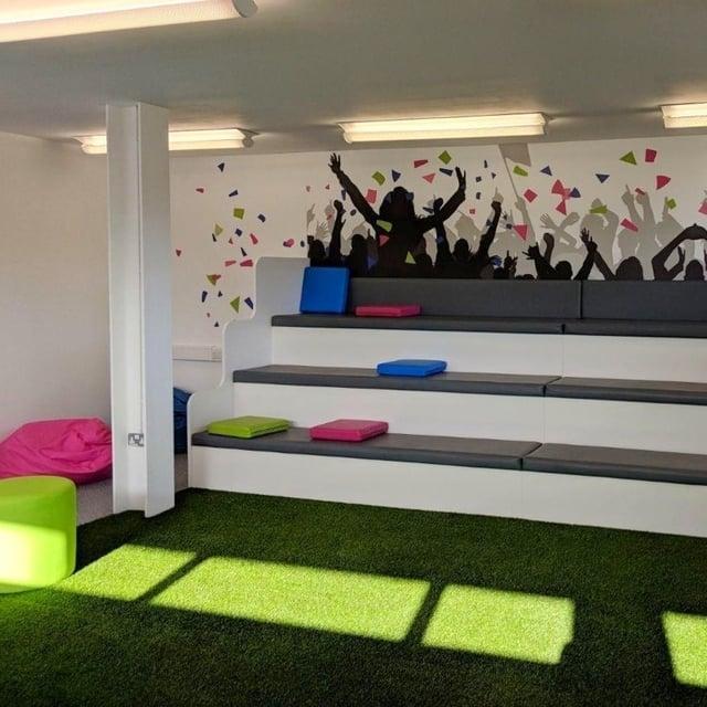 The Hub meeting space