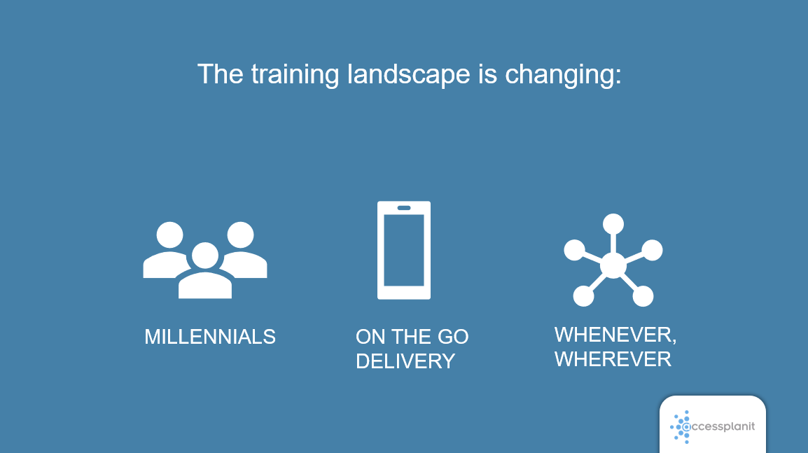 The training landscape is changing