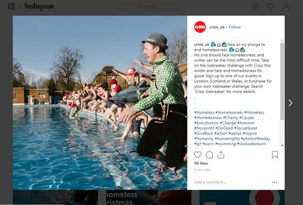 Hashtags Instagram for training business