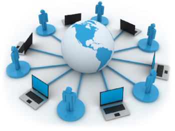 Global learning delivery through network of clients and online portals