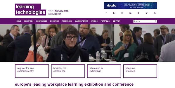conference registration page