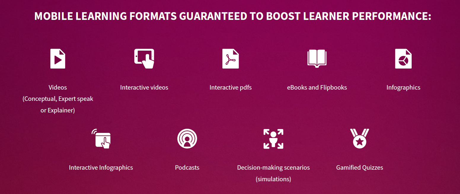 Mobile learning stats from Docebo