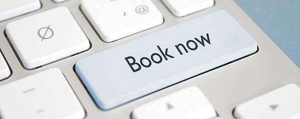 online bookings button
