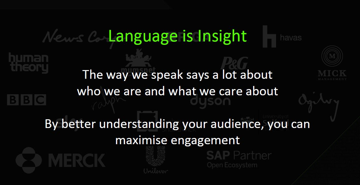 relative insight - language is insight