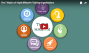 7 habits of highly effective training organisations webinar cover image