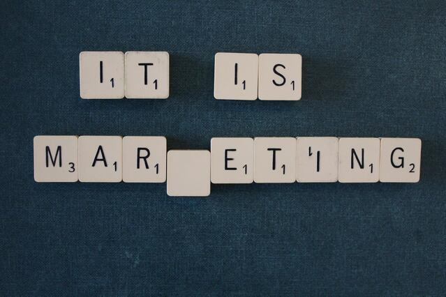 Marketing scrabble tiles
