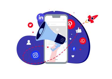 marketing illustration for commercial training providers