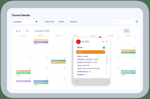 accessplanit course calendar software