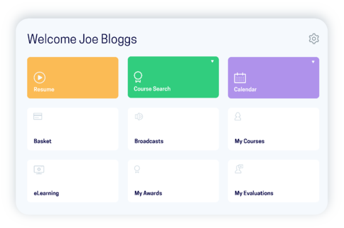 accessplanit learner portal software screen