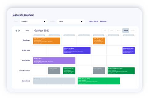 accessplanit resource calendar