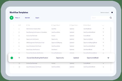accessplanit workflow templates software screen