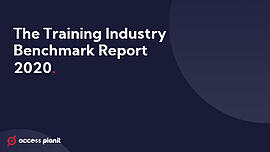 The training industry bechmark report 2020 front cover
