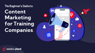 Content marketing guide training companies
