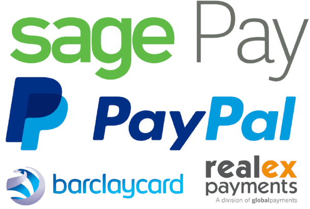 Supported online course booking payment methods on the training management software