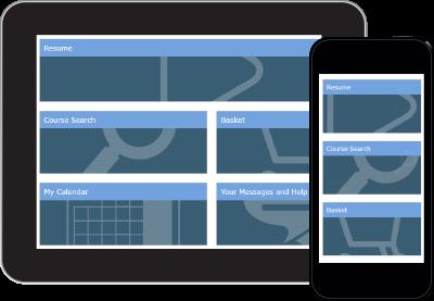 Employee training tracking software dashboard