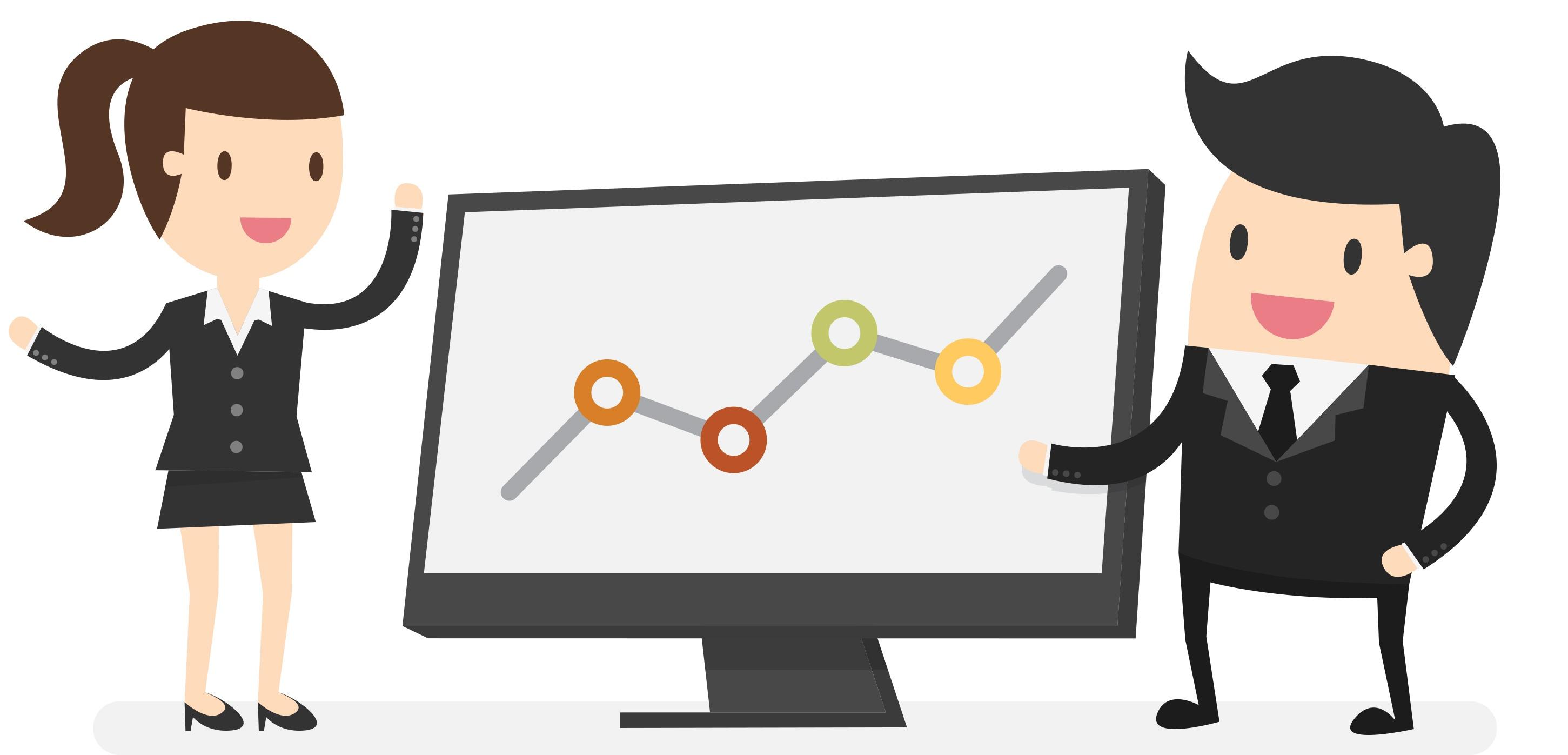 Training company staff managing system data