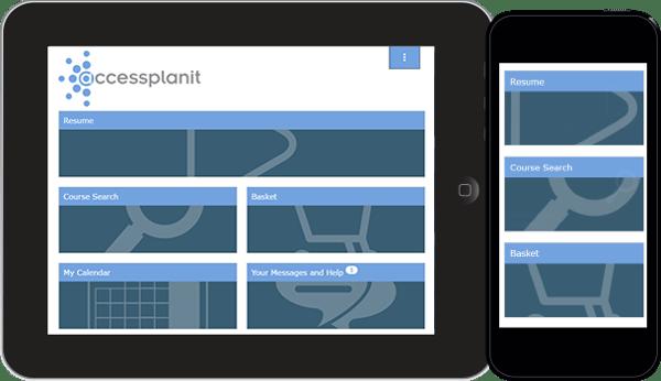 Learner Portal on training management software