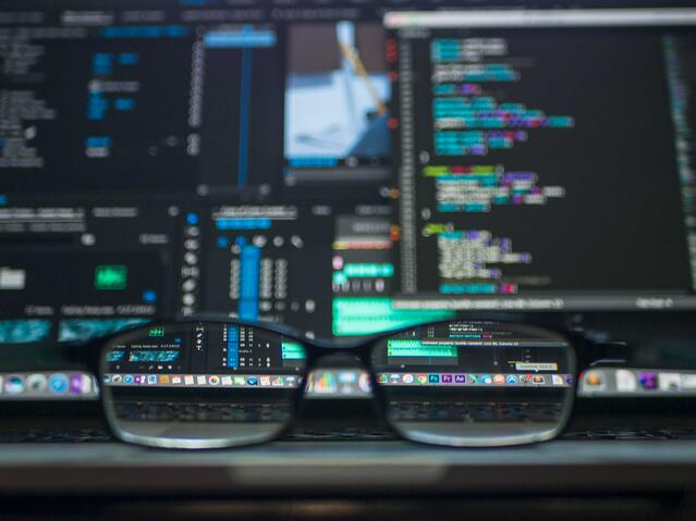 Training company data on system screen