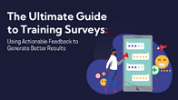 The ultimate guide to training surveys graphic