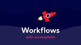 workflows with accessplanit cover graphic