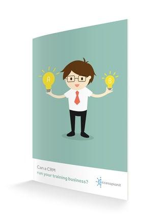 Can a CRM run a training business?
