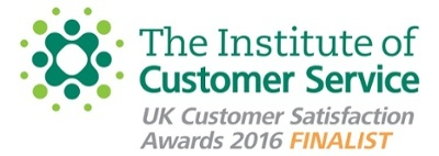 Institute of Customer Service Customer Satisfaction Awards Finalist Logo
