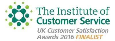 Institute of Customer Service Customer Satisfaction Awards Finalist Logo