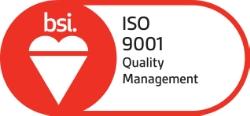 ISO 9001 quality management system logo