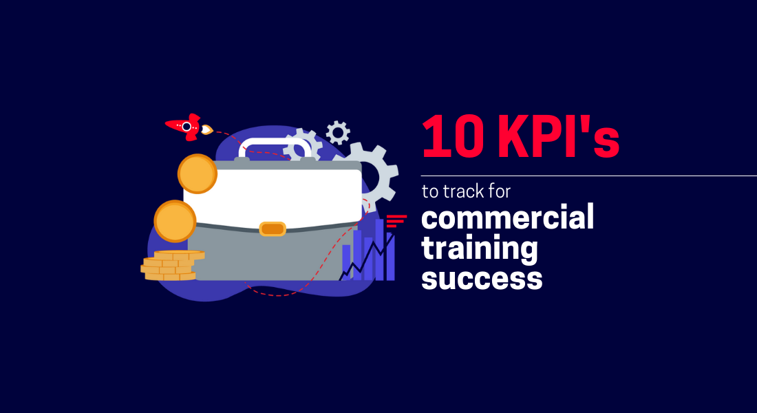 10 metrics to track for commercial training success graphic