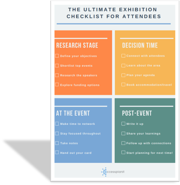 The Ultimate Exhibition Checklist For Attendees