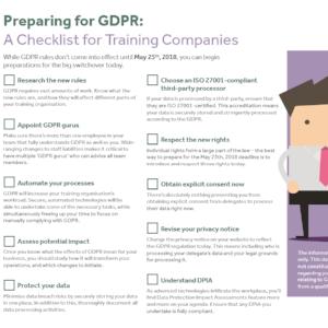 GDPR Checklist for Training Companies: 10 Steps Towards Compliance