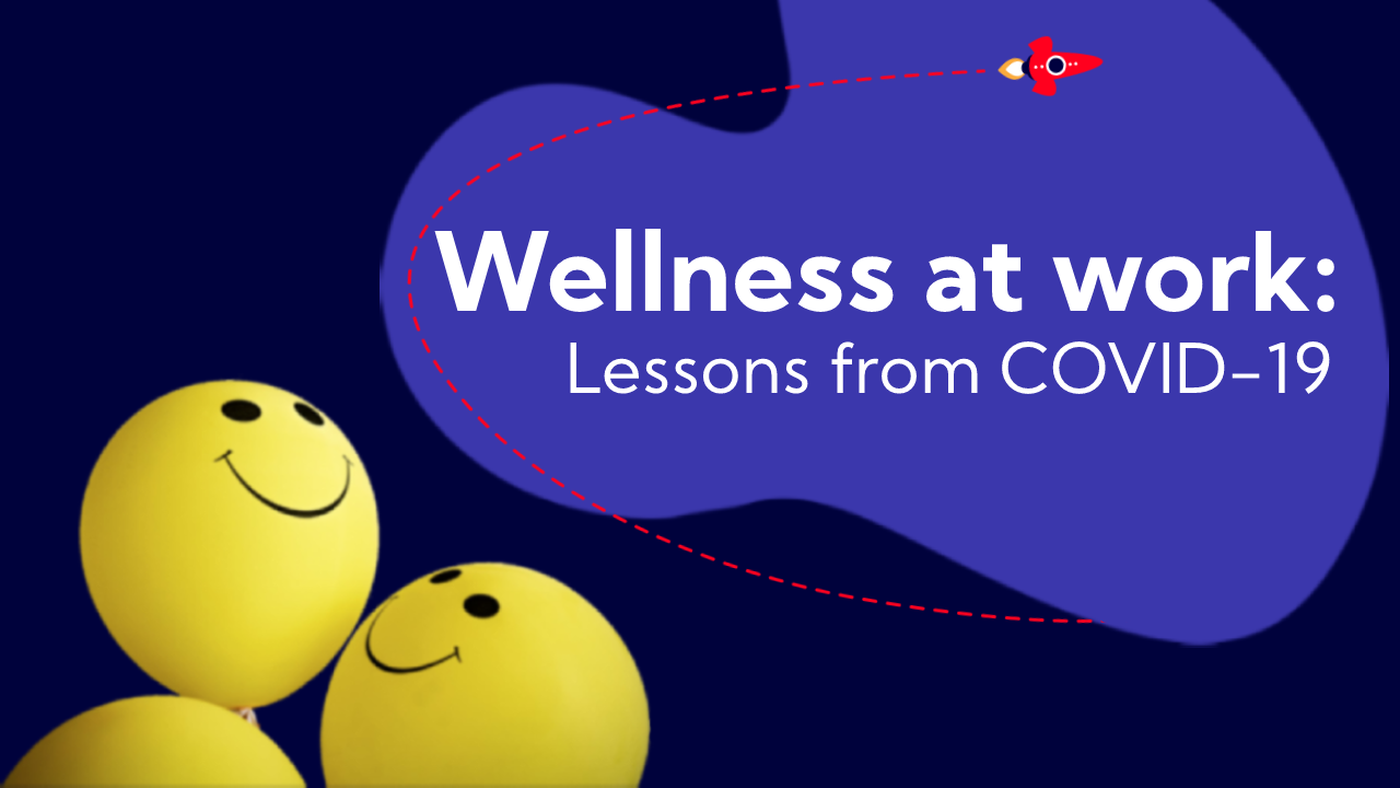 wellness at work blog cover graphic