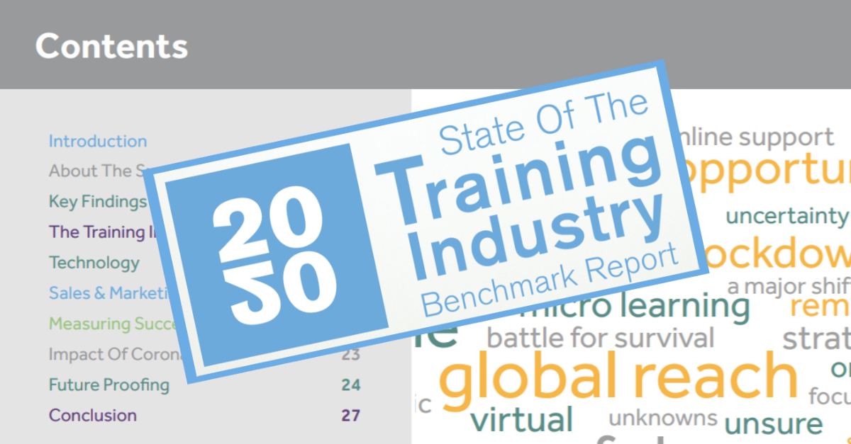 The 2020 Training Industry Benchmark Report