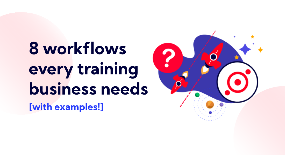 8 workflows every training business needs cover graphic