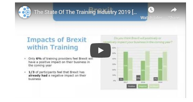 Webinar: The State Of The Training Industry 2019