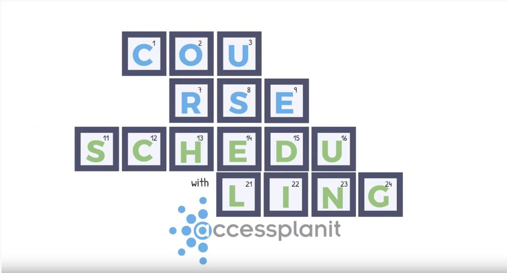 Video: accessplanit Course Scheduling